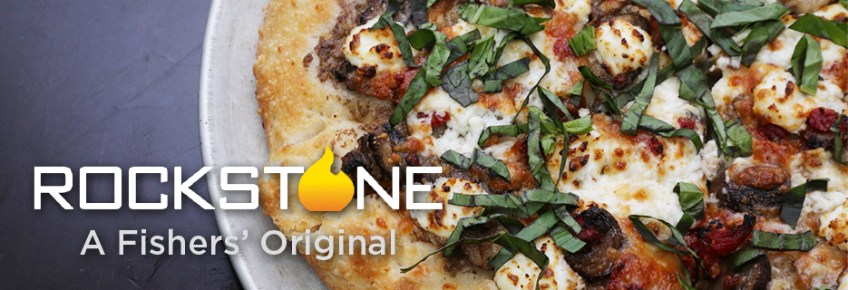 Rockstone Pizzeria & Pub in Fishers, IN wood fired pizzas