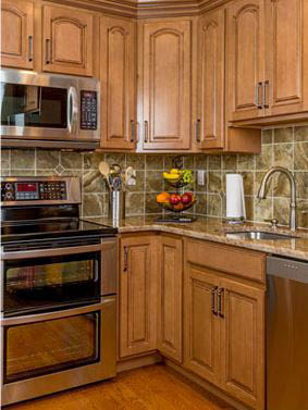 Rodriguez Kitchen Cabinets Installation and New Countertops