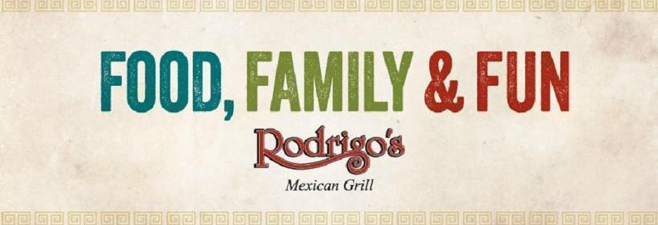 Rodrigo's Mexican Grill logo in Huntington Beach, CA mexican food coupons near me