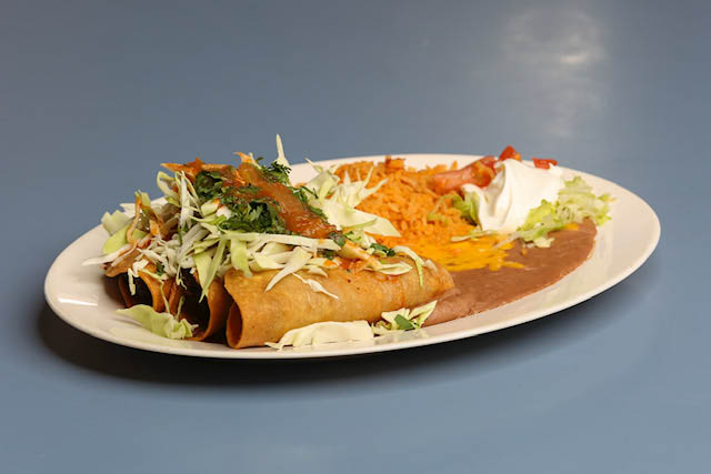 Rolled Tacos Plus all your Favorites!