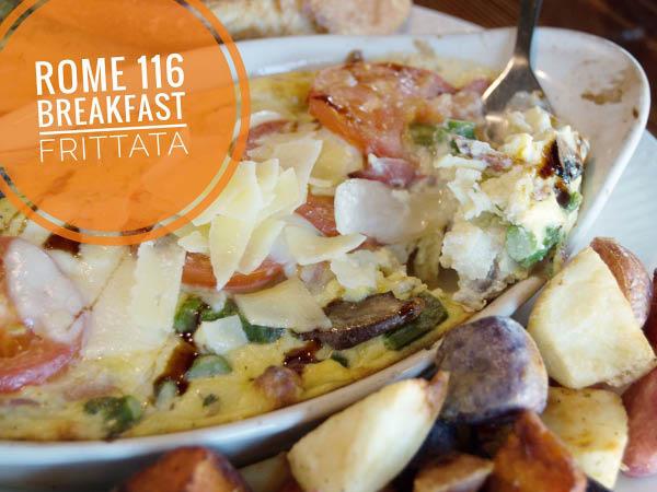 Rome 116 breakfast