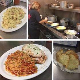 pasta dishes; spaghetti pie in Lancaster