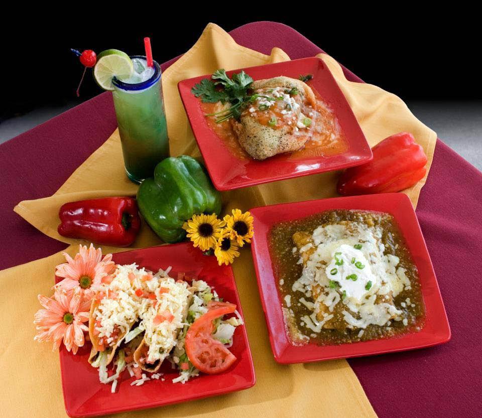 An assortment of fine Mexican food dishes near Palm Desert