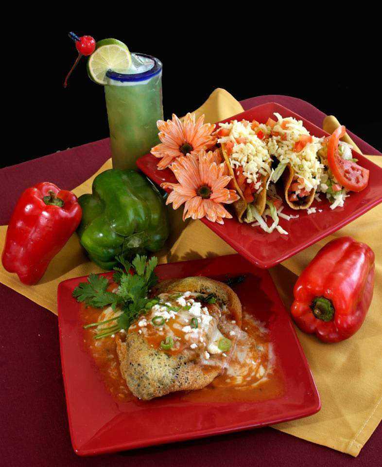 Our Mexican food recipes include whole vegetables