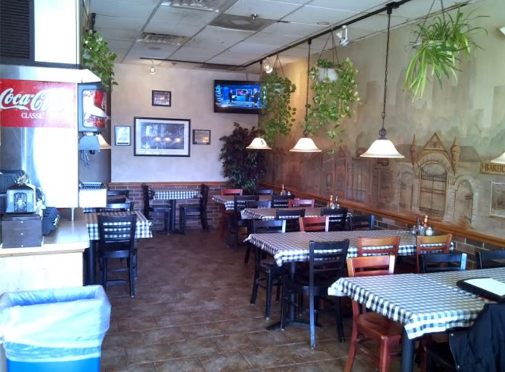 Rosati's of Lake Zurich is a sit down restaurant.