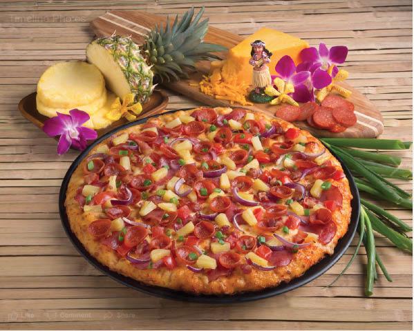 Round Table Maui Zaui Pizza.