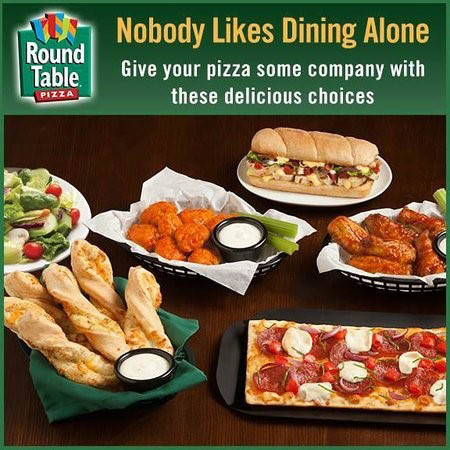 Subs, wings, breadsticks, salads at Round Table in Orange, CA