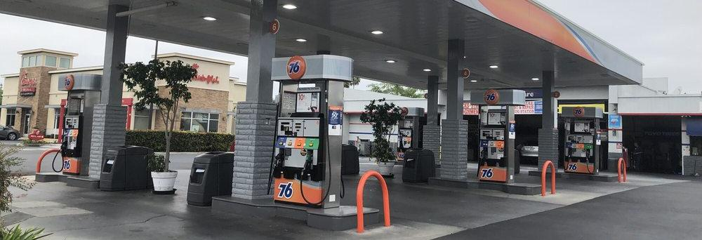 russ conkle 76 service station Rossmoor ca logo auto repair coupons near me