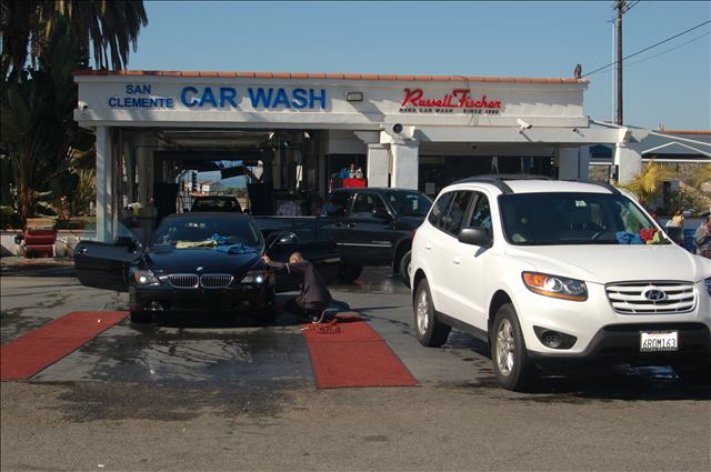 Russell Fischer Car Wash storefront in San Clemente, CA