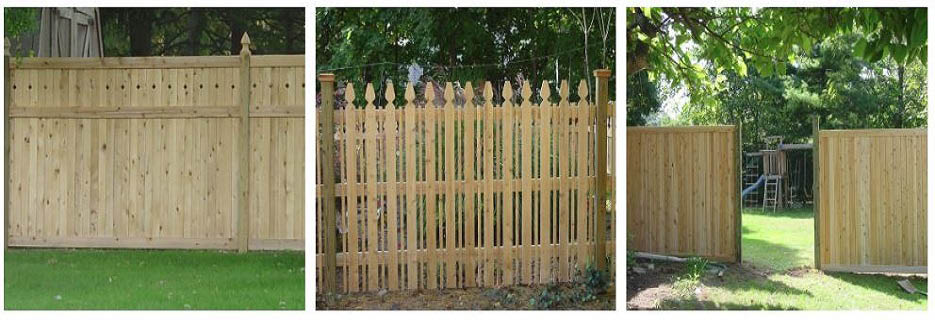 fence, wood fence, vinyl fence, home