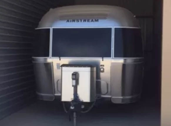 RV or boat enclosed storage space up to 45 feet