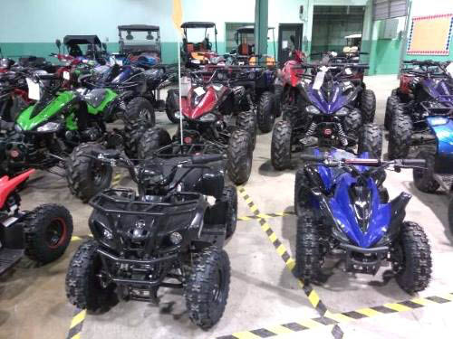 Both Electric and Gas ATV's available!