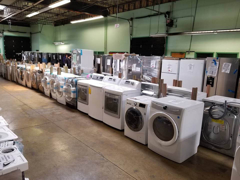 Many great brands of washers and dryers available!
