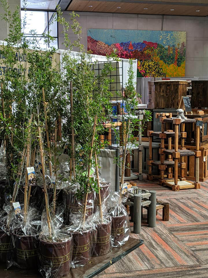 Gardening and patio goods and services