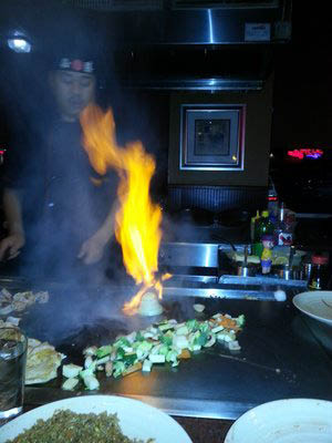Hibachi Grill Performances By Our Trained Chefs Deliver Amazing Stir Fry By Grantville.