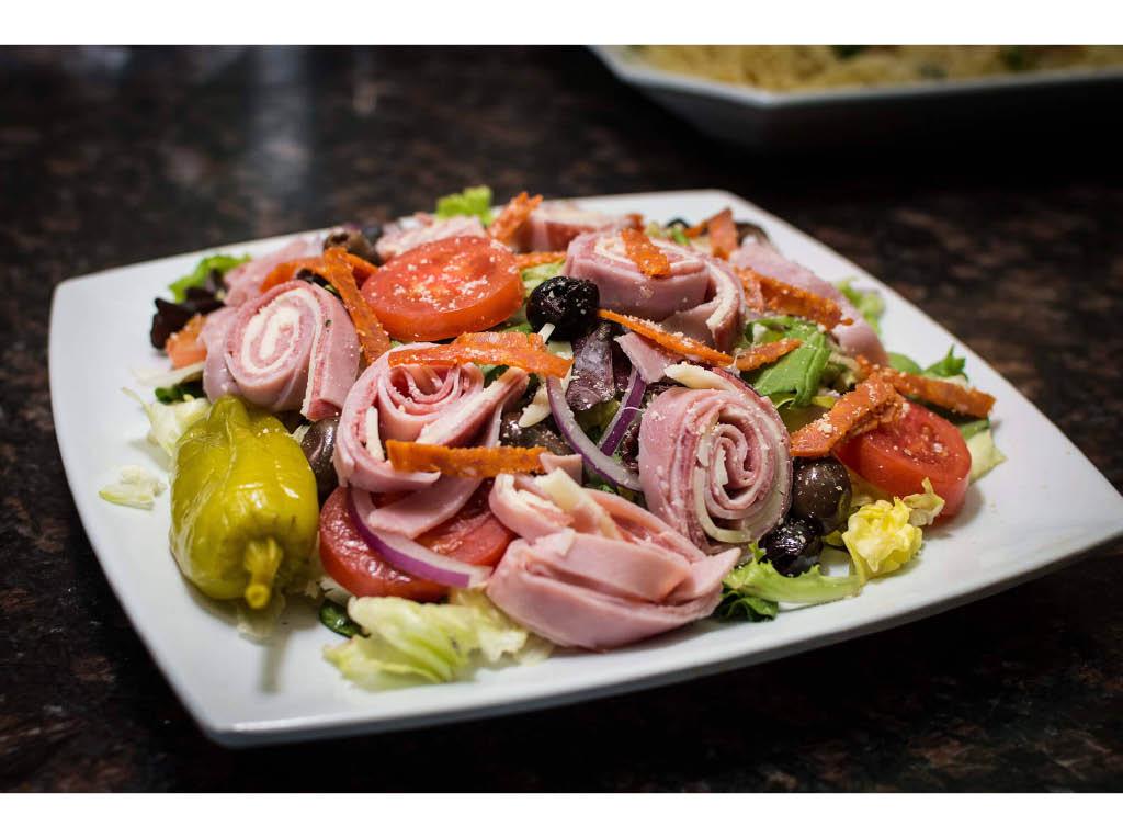 Salad at Ken's Pizza Rochester NY