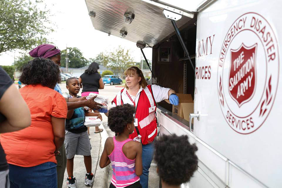 Disaster assistance, Salvation Army