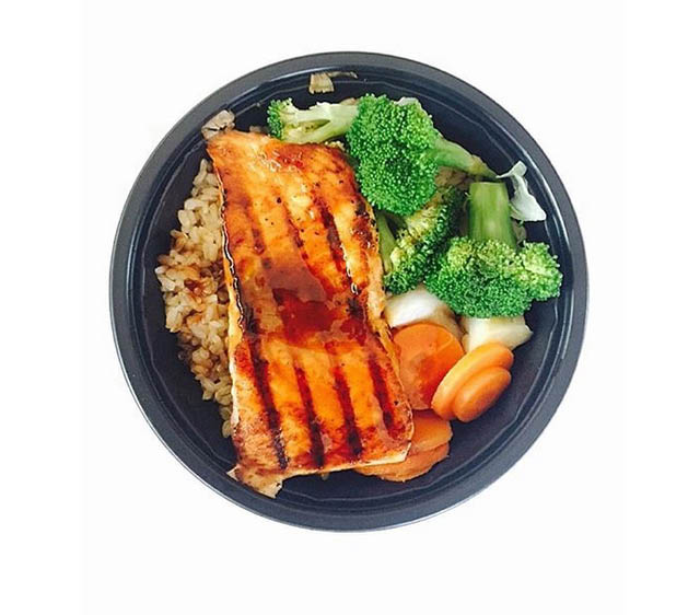 Rice Bowls made with fresh meats, seafood & vegetables in Indio, CA at WaBa Grill