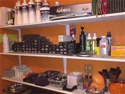 Salon Orange sells professional-grade beauty products for hair care between visits