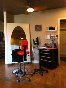 Nicely appointed hair salon - schedule an appointment today