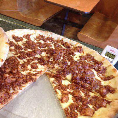 Milwaukee WI Sal's Pizzeria BBQ Chicken Pizza