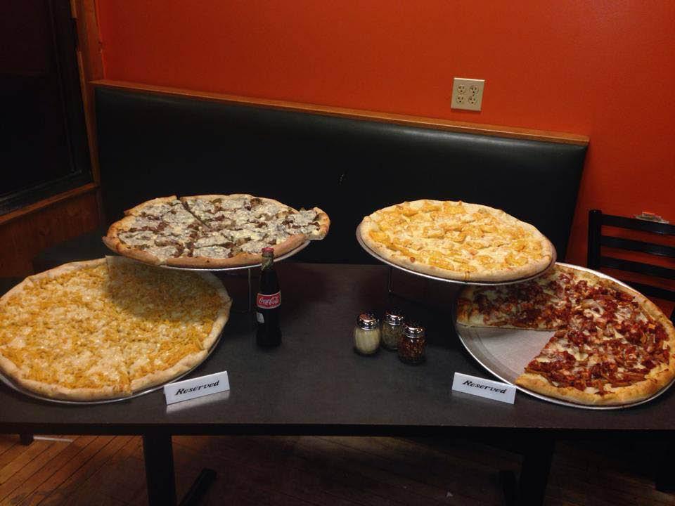 Milwaukee Sal's Pizzeria Pizza Display