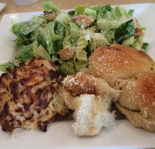 fortunato brothers sal's italian eatery in edgewood, md crab cake