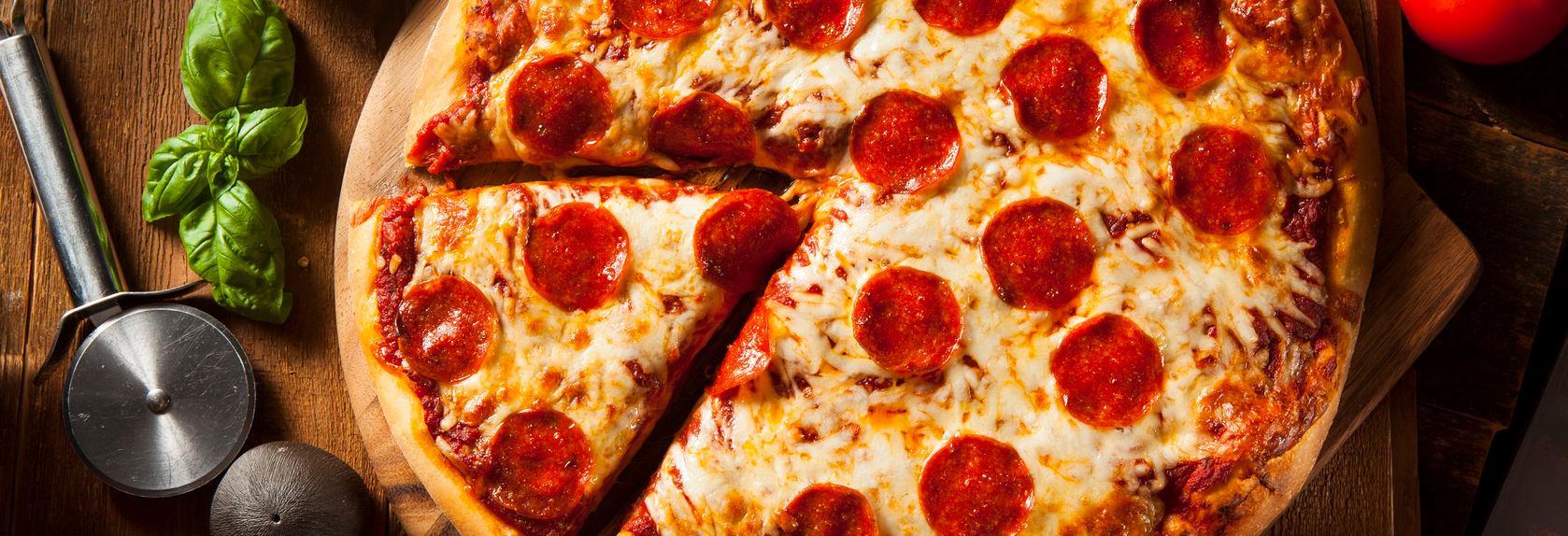 Sam's Sorrento Pizza banner St. Clair Shores, MI