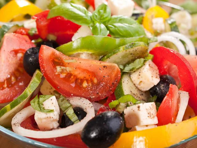 Greek salad in Canton, GA