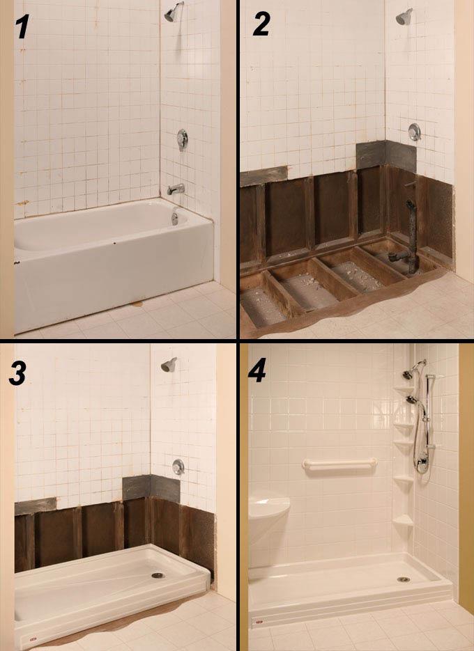 Bathroom remodel in Baytown