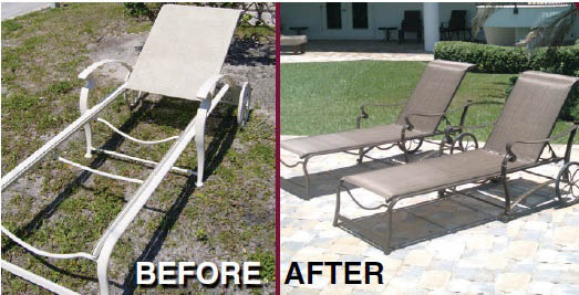 refurbish furniture in Pinellas Park Florida