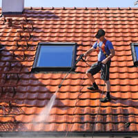 Savannah Softwash also performs pressure washing of tile roofs