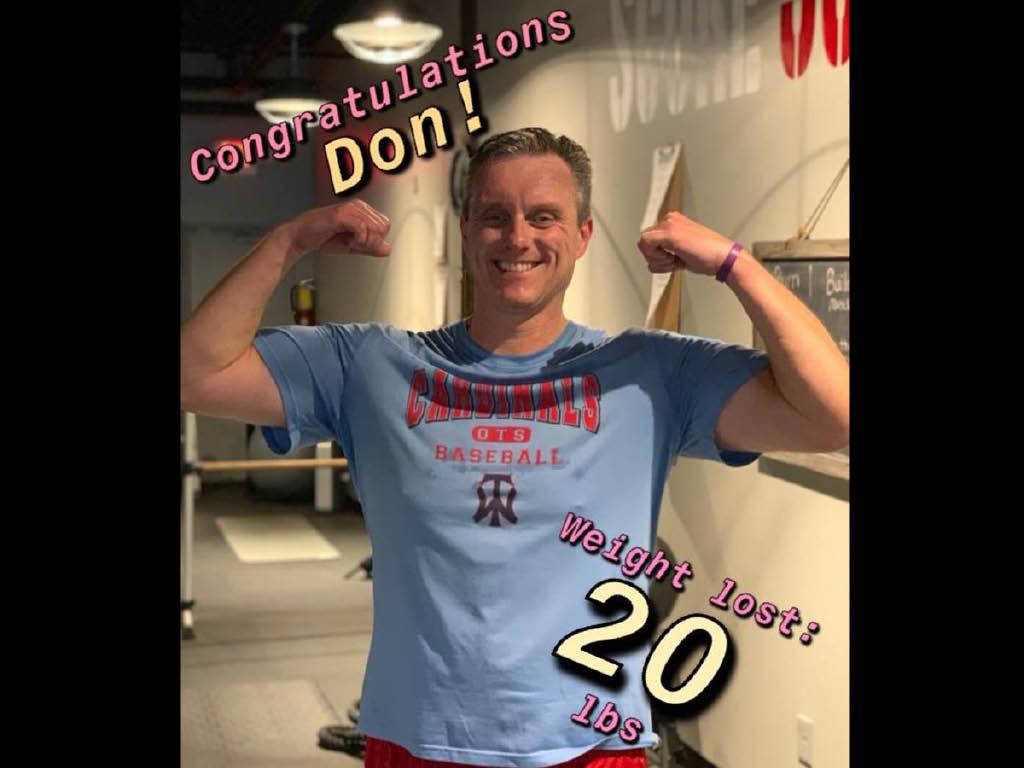 Score 30 Fitness weight loss