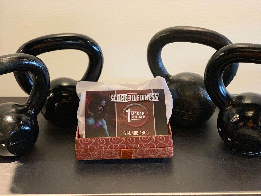 Score 30 Fitness weight lifting