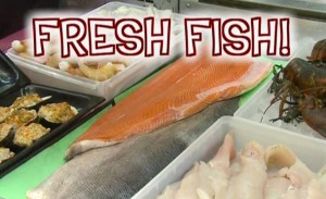 various types of fish to be purchased at Niemuth's in Appleton, WI