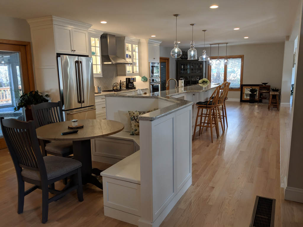 If you need a special design or have a limited space to work with call Seaside Kitchens & Baths to see if we can help. Custom Kitchens for less is our motto