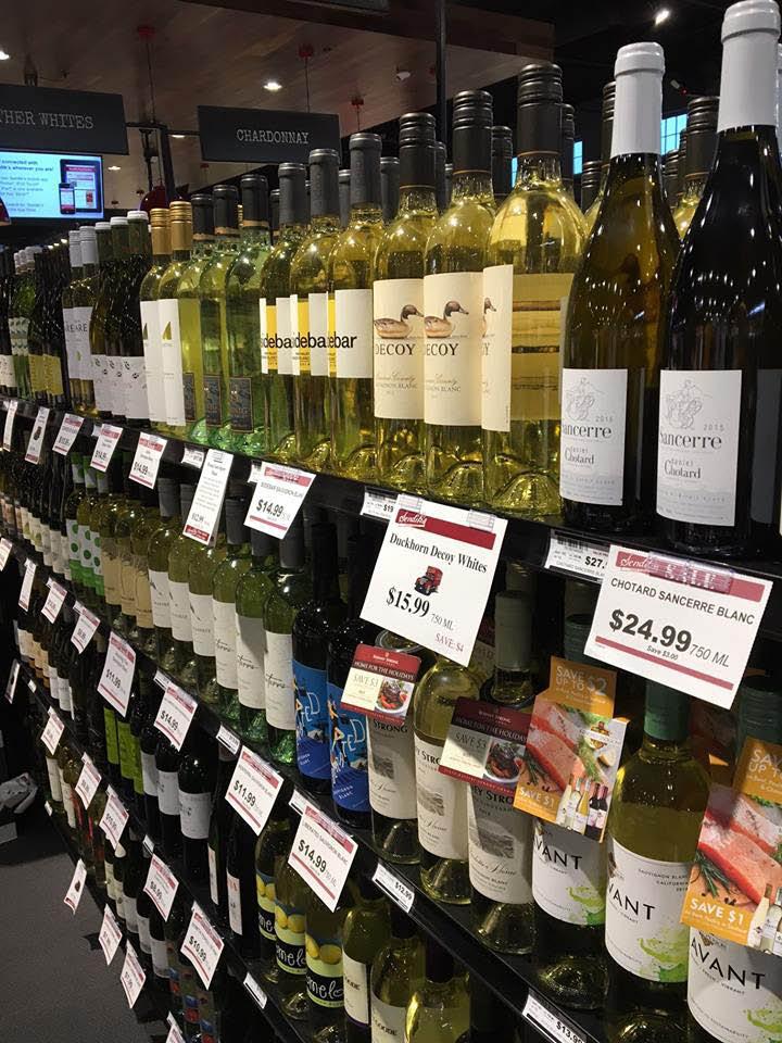 Sendik's huge wine and spirits selection, wine, beer, liquor, alcohol