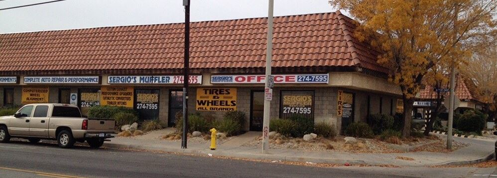 Located in Palmdale, Sergio's is the best in oil changes and tune ups