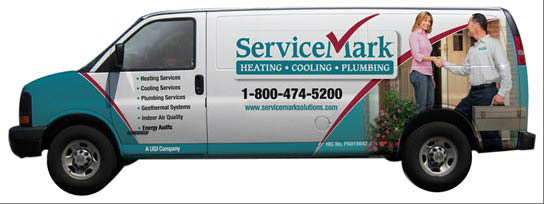 ServiceMark Heating, Cooling and Plumbing, Pennsylvania, Delaware, hvac, plumbing