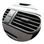 Now the hot weather is here, get your air conditioning serviced