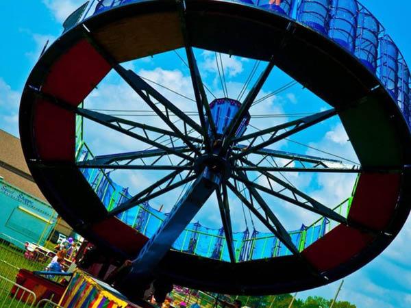 Seton Parish Family Festival rides