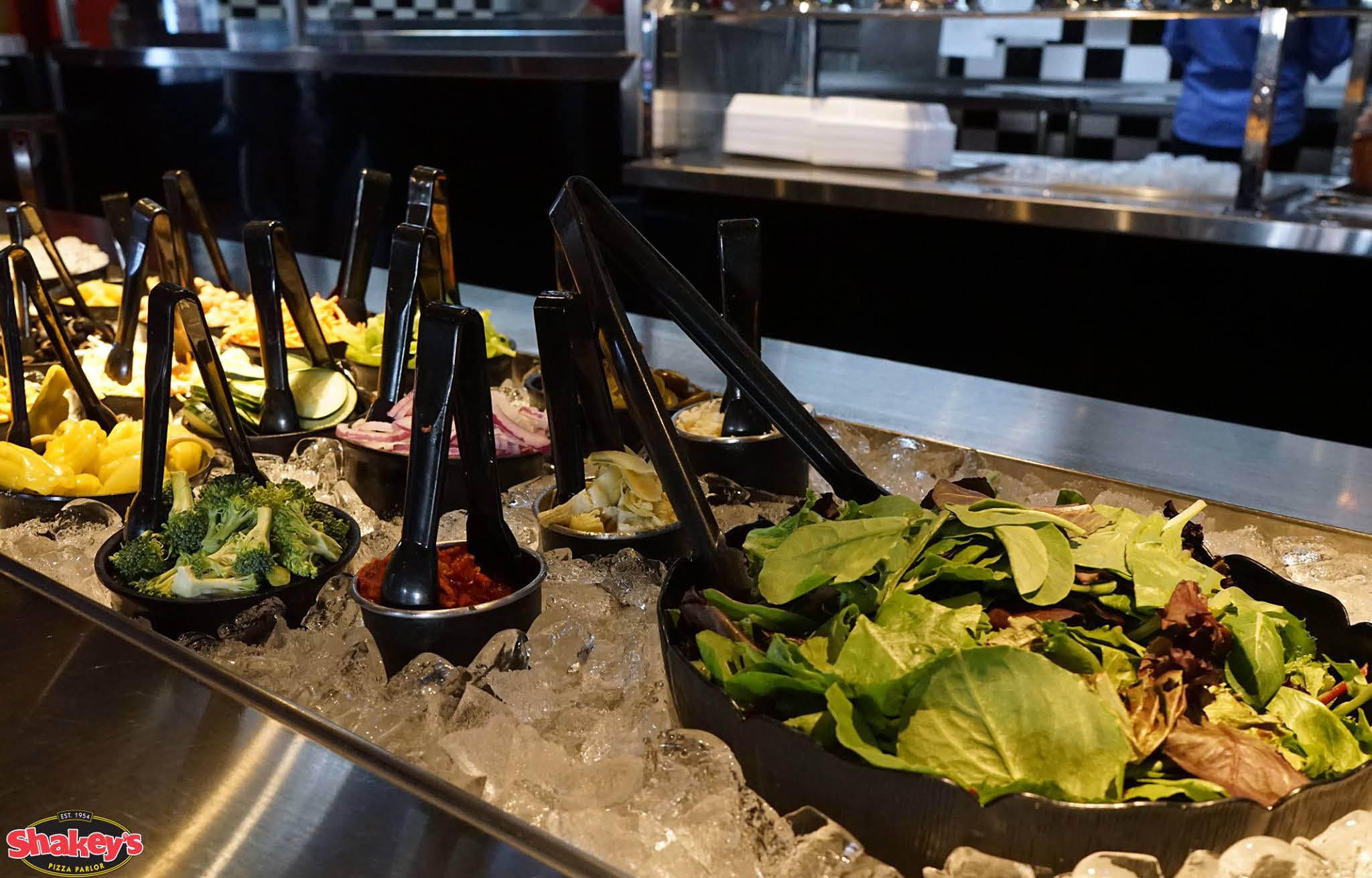 Salad bar near Honolulu International Airport