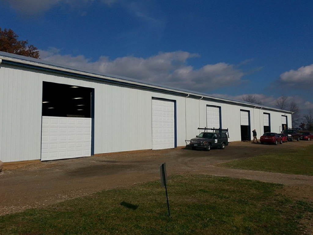 Shamrock Overhead Garage Doors commercial doors