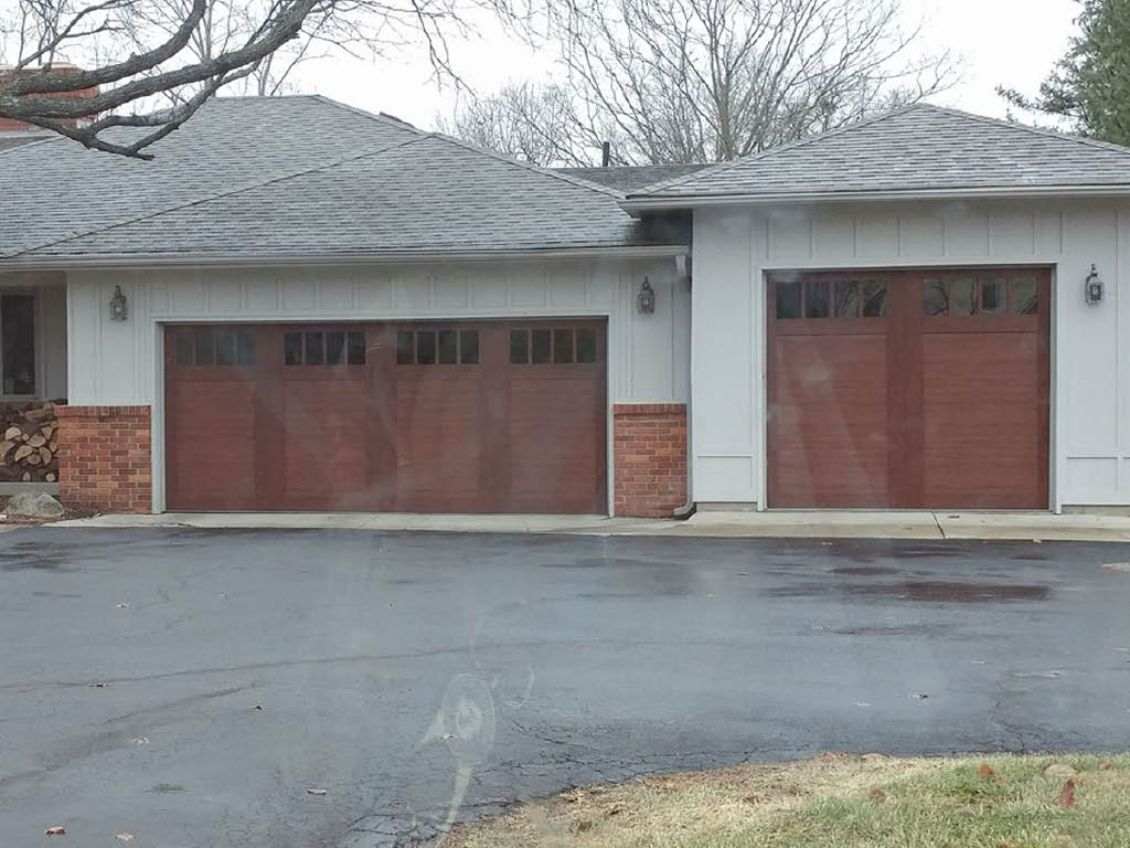 Shamrock Overhead Garage Doors multi-car garage doors