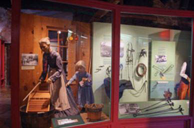 View historically significant exhibits at Sharlot Hall Museum