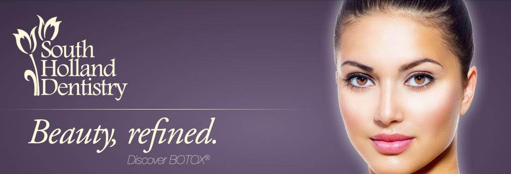 Facial cosmetic procedures such as Botox also available at South Holland Dentistry.