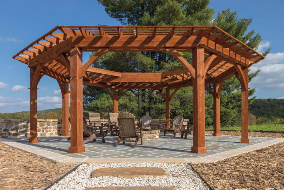 Gazebos & pergolas made by The Shed Haus in Pawling, NY