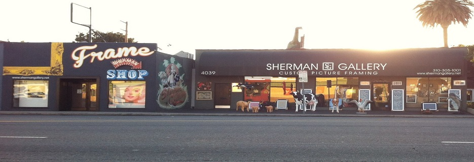 Sherman Gallery & Frame Store banner