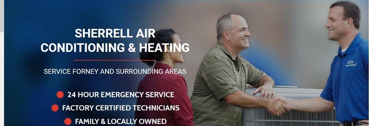 Sherrell Air Conditioning & Heating in Dallas & Houston, TX banner