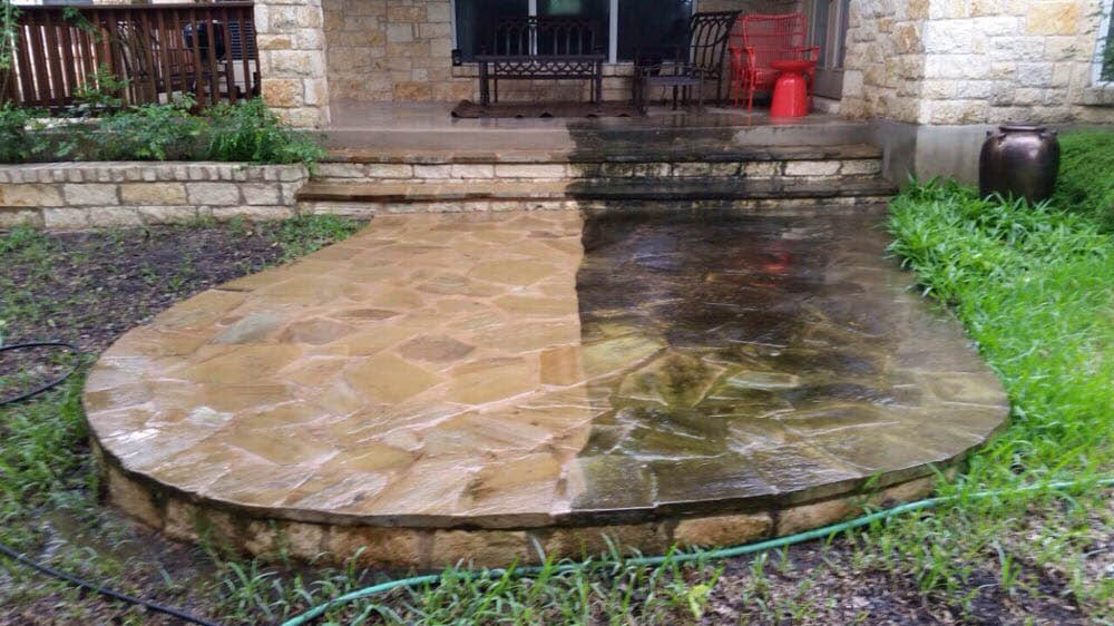 power washing wash exterior outside cleaning